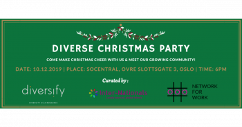 Diverse Christmas Party